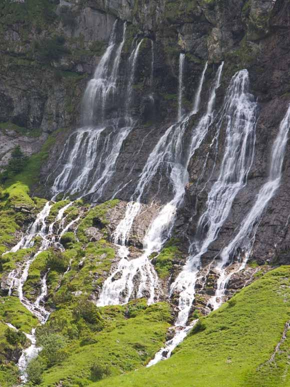 Wasserfall im Schwarzental