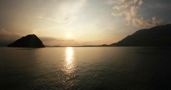 Sonnenuntergang auf dem Vierwaldstätter See