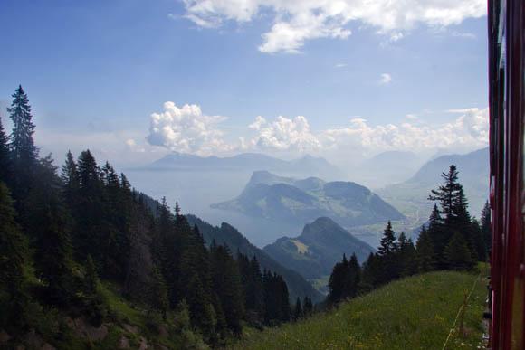 Blick zurück auf den Vierwaldstätter See