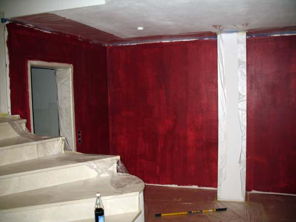 geputzte wände streichen